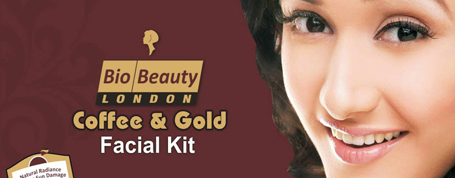 Coffee & Gold Facial Kit